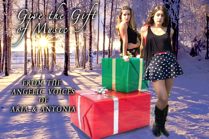 give the gift of holiday Christmas carols music
